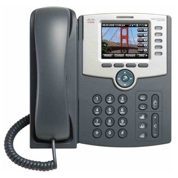 Téléphonie VoIP Cisco PRO SPA525G2 Téléphone 5 lignes pour VoIP