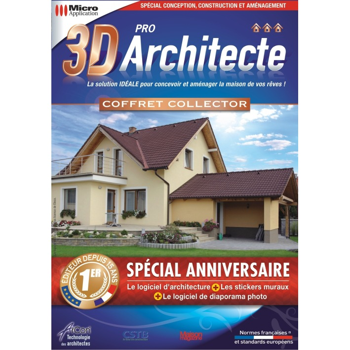 Micro application 3d architecte pro micro for 3d architecte micro application