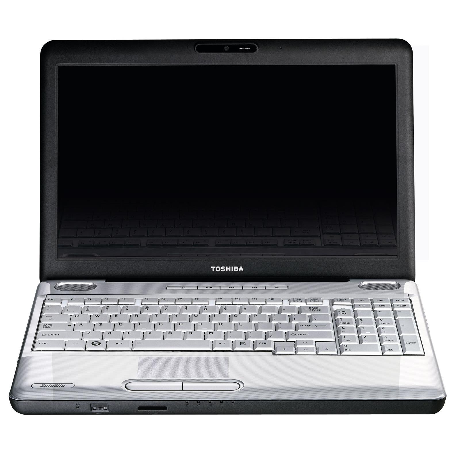"PC portable Toshiba Satellite L500-13Z Toshiba Satellite L500-13Z - Intel Pentium Dual-Core T4200 4 Go 500 Go 15.6"" TFT Graveur DVD Super Multi DL Wi-Fi N Webcam WVFB"