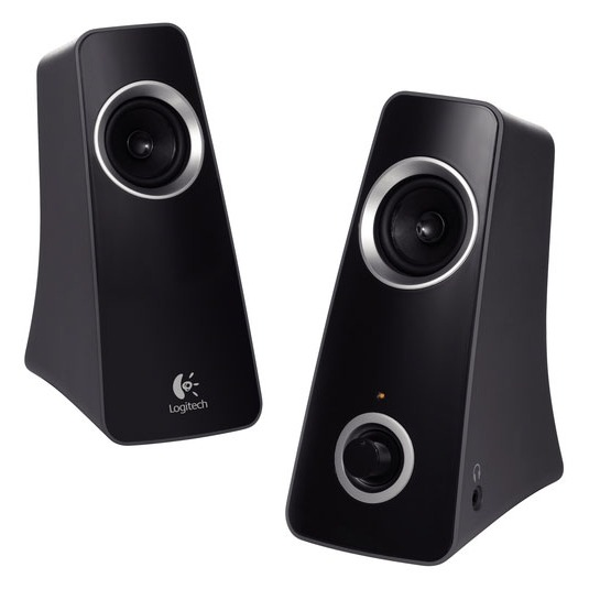 logitech speaker system z320 enceinte pc logitech sur. Black Bedroom Furniture Sets. Home Design Ideas