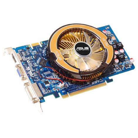 Carte graphique ASUS EN9600GT/DI/512 MD3 ASUS EN9600GT/DI/512 MD3 - 512 Mo HDMI/DVI - PCI Express (NVIDIA GeForce avec CUDA 9600 GT) - (garantie 3 ans)