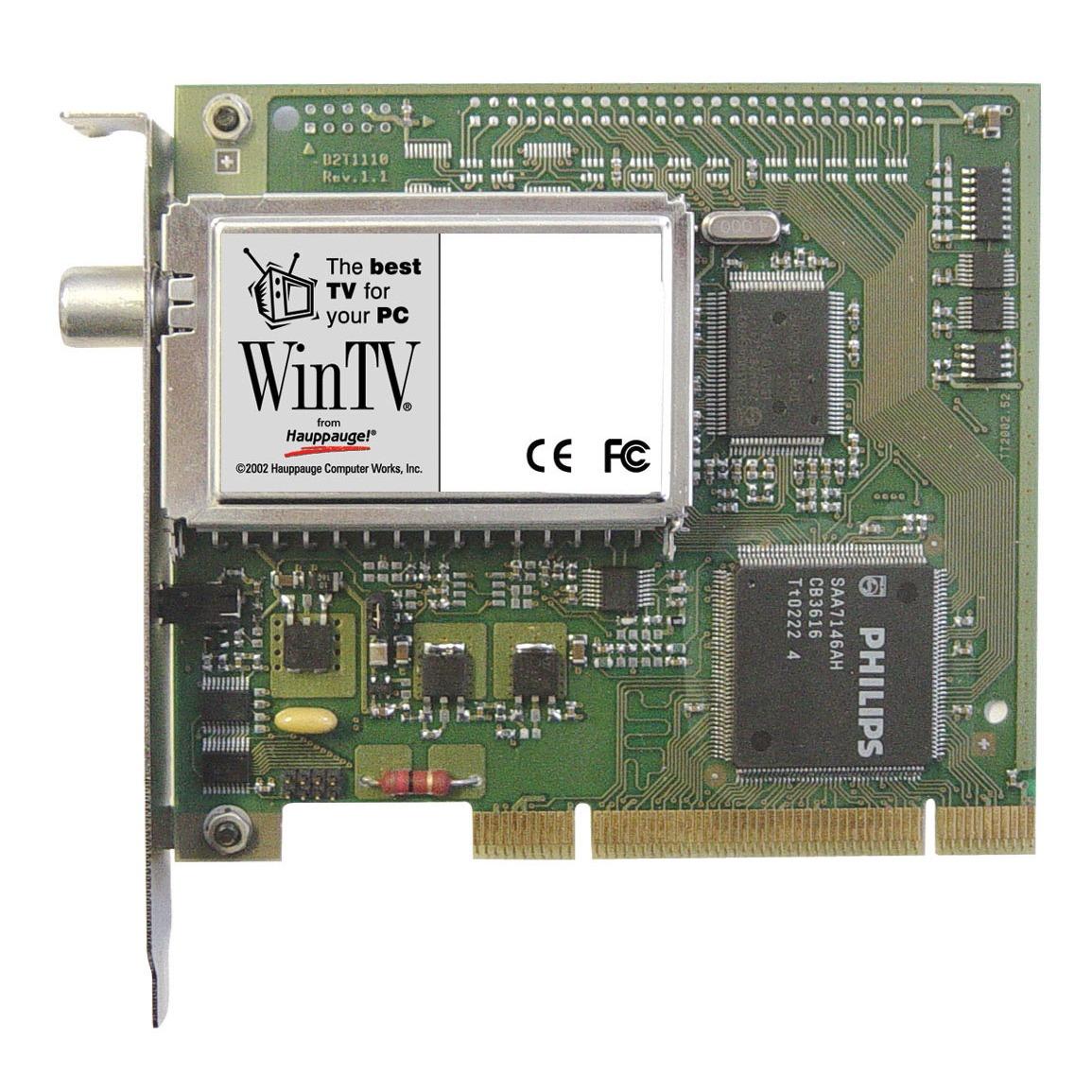 Carte TV Hauppauge WinTV-NOVA-T Hauppauge WinTV-NOVA-T - Carte TV PCI TNT