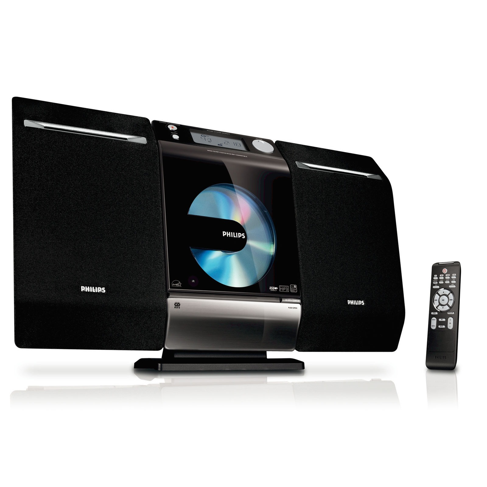 philips mcm277 cha ne hifi philips sur. Black Bedroom Furniture Sets. Home Design Ideas