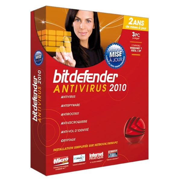 bitdefender antivirus 2010 logiciel antivirus bitdefender sur. Black Bedroom Furniture Sets. Home Design Ideas