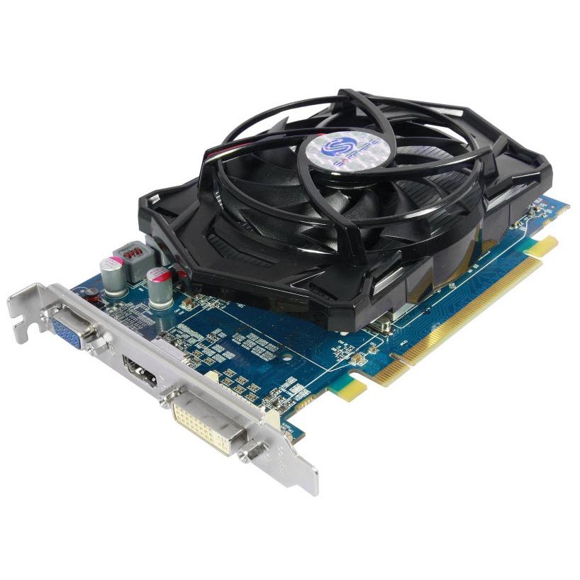 Carte graphique Sapphire Radeon HD 4670  Sapphire Radeon HD 4670 - 1 Go HDMI/DVI - PCI Express (ATI Radeon HD 4670)