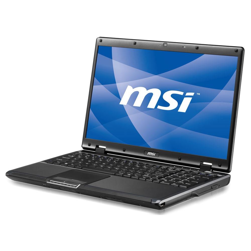 "PC portable MSI CR600-041 MSI CR600-041 - Intel Pentium Dual-Core T4300 4 Go 320 Go 16"" LCD Graveur DVD Wi-Fi N Webcam Vista Premium (Garantie 2 ans)"