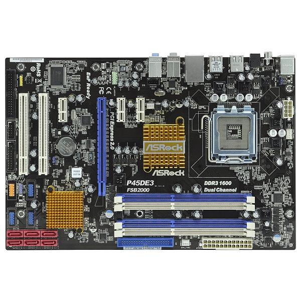 Carte mère ASRock P45DE3 ASRock P45DE3 (Intel P45 Express) - ATX