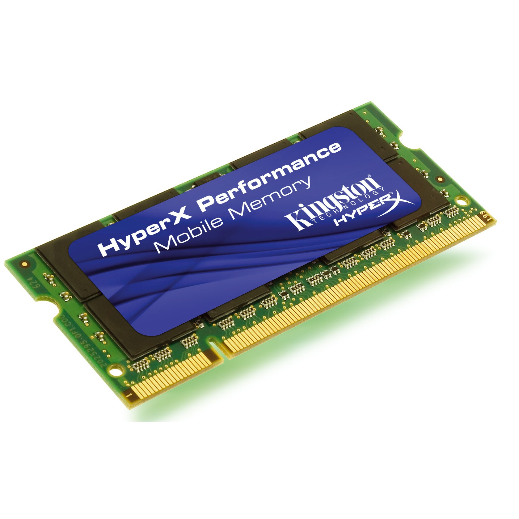 Mémoire PC portable Kingston HyperX Performance SO-DIMM 2 Go DDR2 533 MHz Kingston HyperX Performance SO-DIMM 2 Go DDR2-SDRAM PC4200 CL3 - KHX4200S2LL/2G (garantie 10 ans par Kingston)