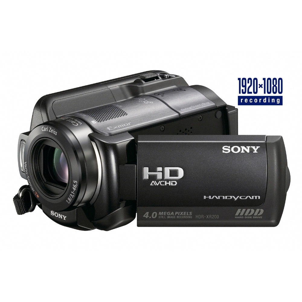 sony hdr xr200ve cam scope num rique sony sur. Black Bedroom Furniture Sets. Home Design Ideas