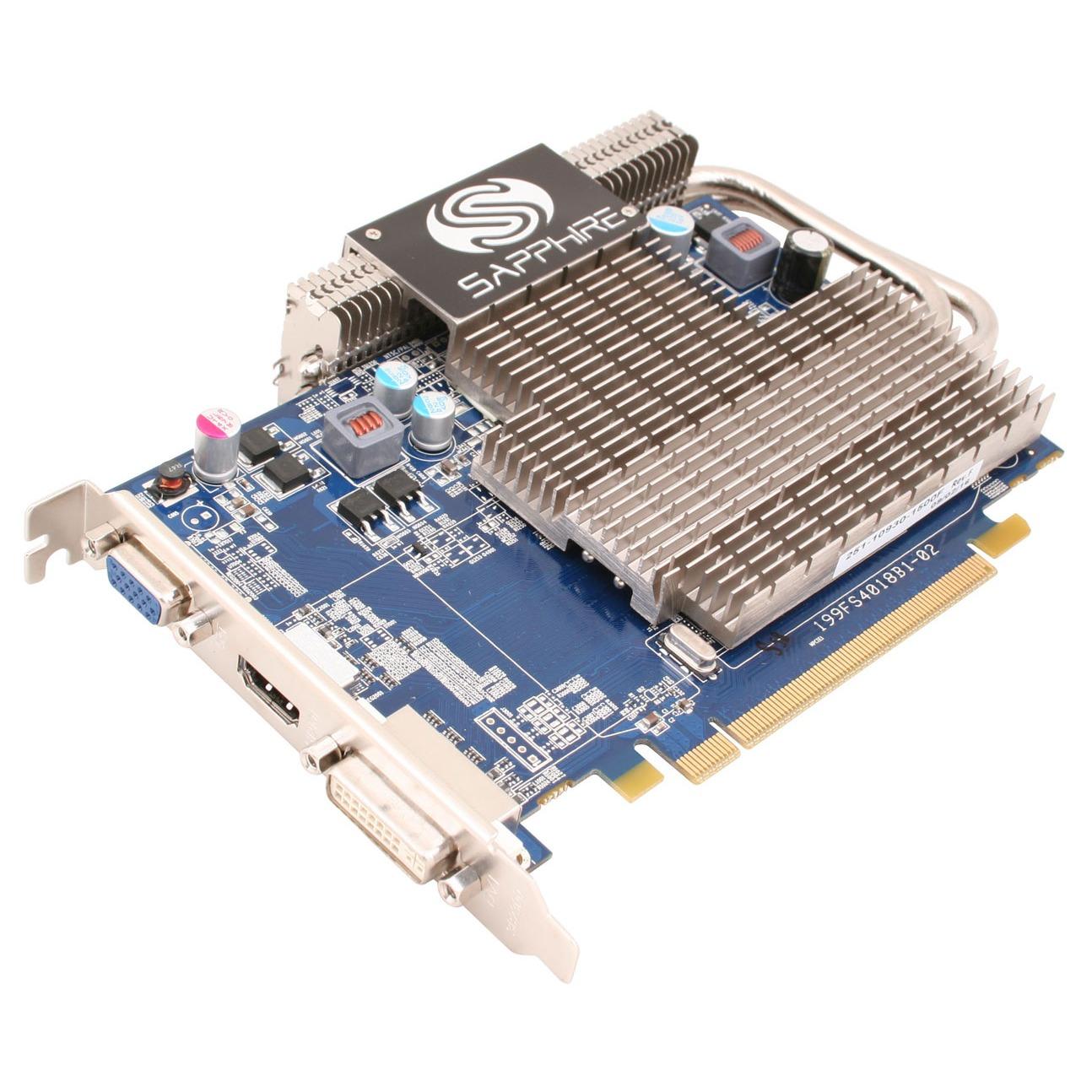 Carte graphique Sapphire Radeon HD 4650 Ultimate - 1 Go Sapphire Radeon HD 4650 Ultimate - 1 Go HDMI/DVI - PCI Express (ATI Radeon HD 4650)