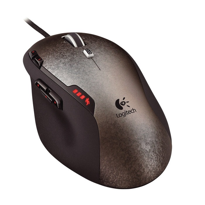 Souris PC Logitech Gaming Mouse G500 Souris laser à 10 boutons avec réglage de poids pour gamer