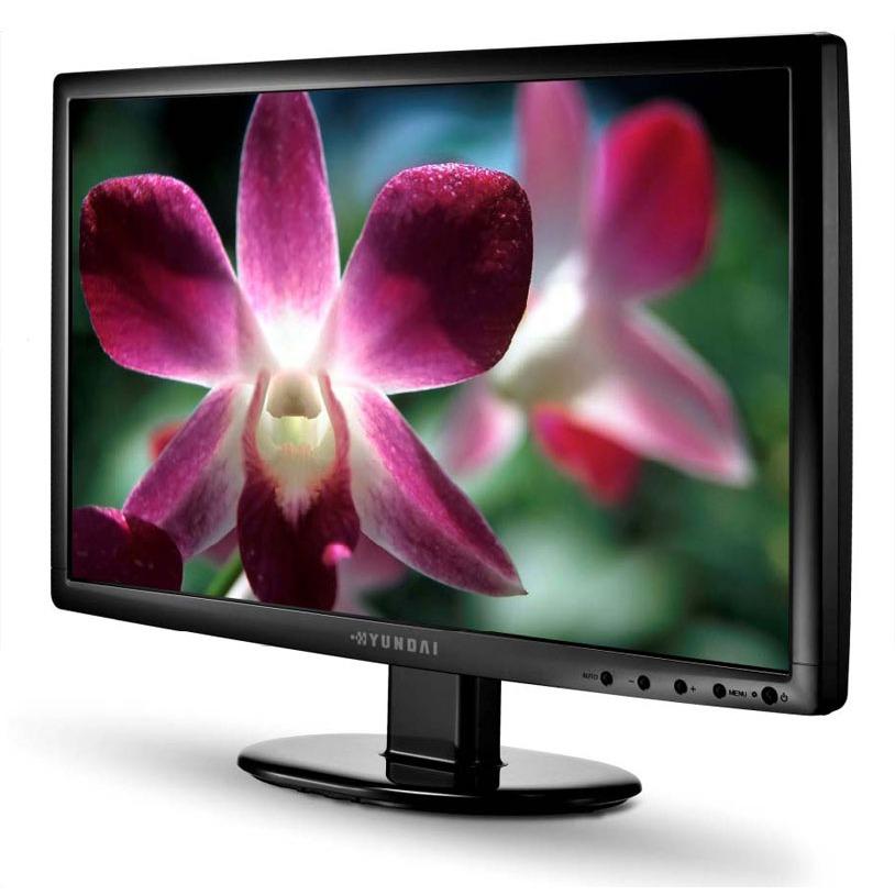 """Ecran PC Hyundai 21.5"""" LCD - V226Wa 1920 x 1080 pixels - 5 ms - Format large 16/9 - Noir (garantie constructeur 3 ans)"""