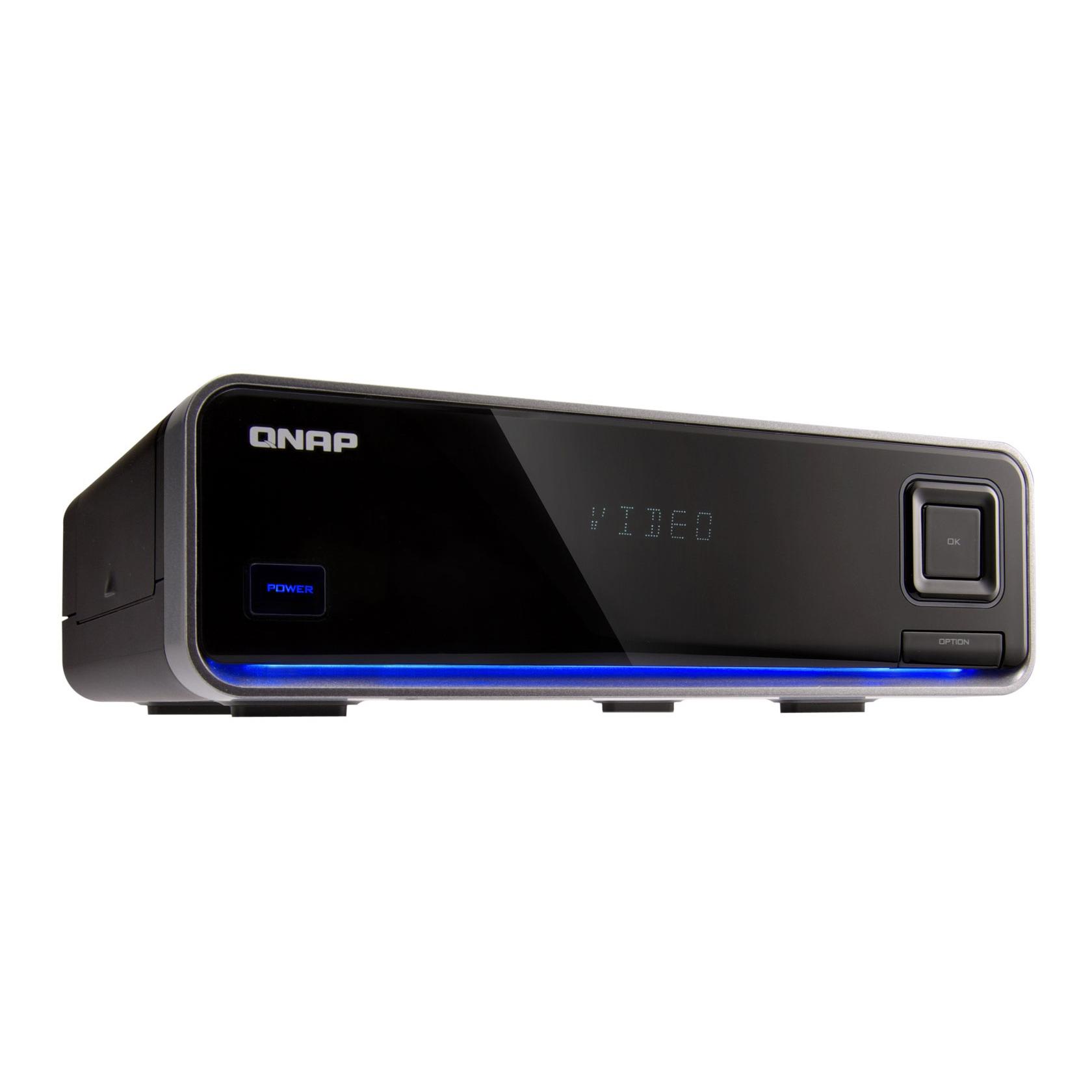 Lecteur multimédia QNAP NMP-1000 QNAP NMP-1000 - Boîtier multimédia HD 1080p avec fonction NAS (Ethernet/USB 2.0/eSATA) - sans disque dur