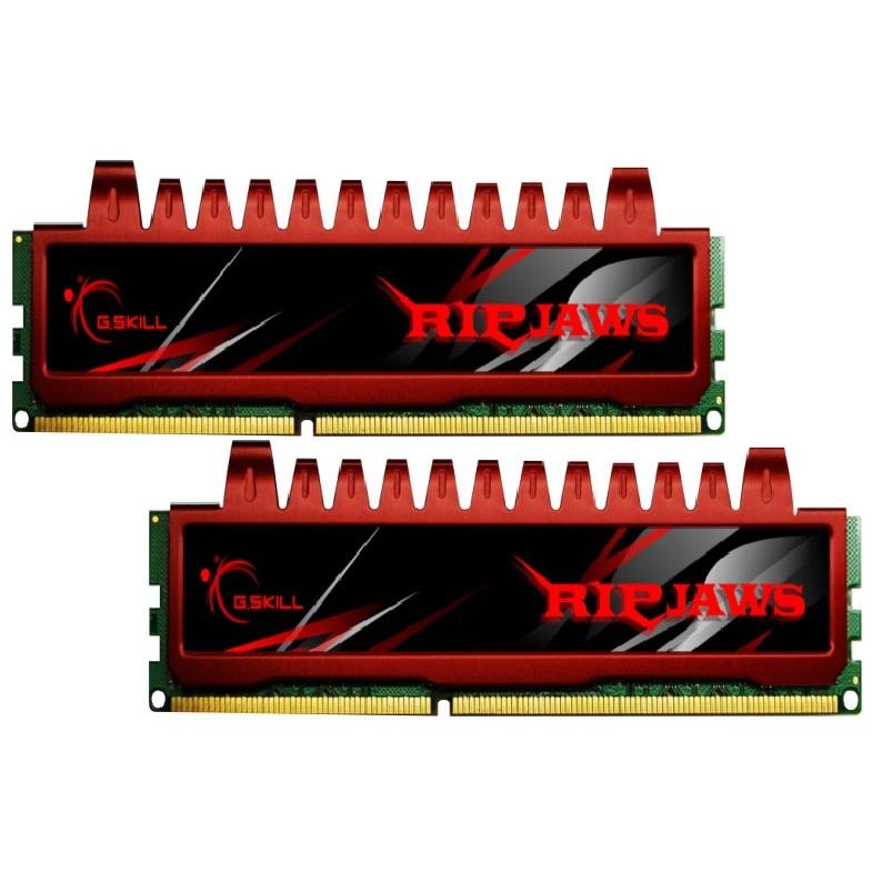Mémoire PC G.Skill RL Series RipJaws 8 Go (kit 2x 4Go) DDR3 1333 MHz G.Skill RL Series RipJaws 8 Go (kit 2x 4 Go) DDR3-SDRAM PC3-10666 - F3-10666CL9D-8GBRL (garantie 10 ans par G.Skill)