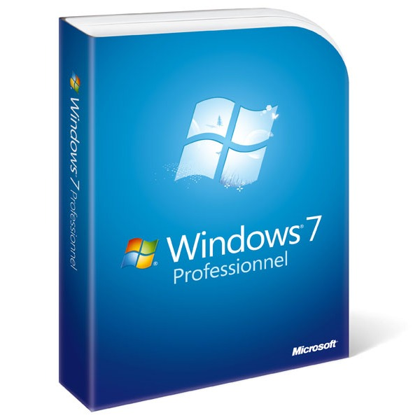 Windows Microsoft Windows 7 Professionnel Microsoft Windows 7 Professionnel (français)