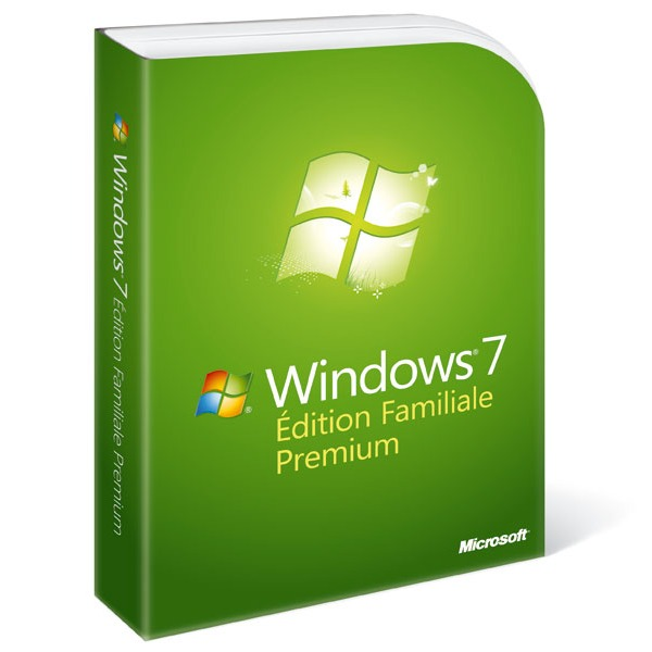 Windows Microsoft Windows 7 Édition Familiale Premium Microsoft Windows 7 Édition Familiale Premium (français)