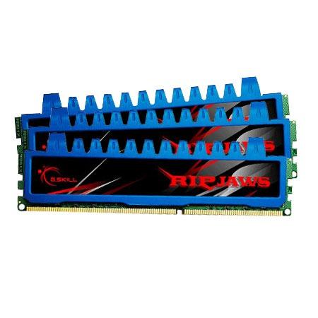 Mémoire PC G.Skill RM Series RipJaws 6 Go (3x 2Go) DDR3 1600 MHz G.Skill RM Series RipJaws 6 Go (kit 3x 2 Go) DDR3-SDRAM PC3-12800 - F3-12800CL8T-6GBRM (garantie 10 ans par G.Skill)