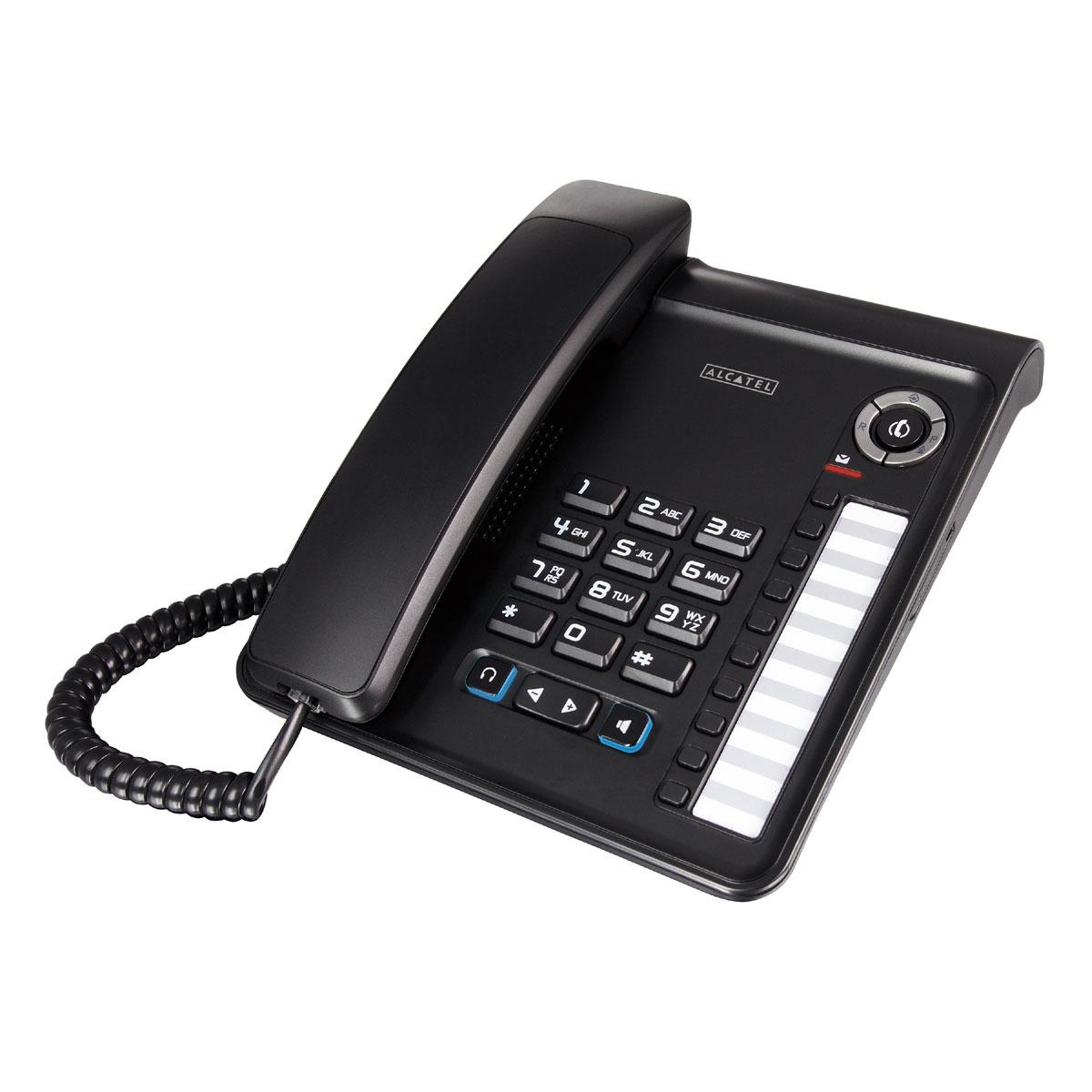 Téléphone filaire Alcatel Temporis Pro 350 Noir Alcatel Temporis Pro 350 Noir (version française)