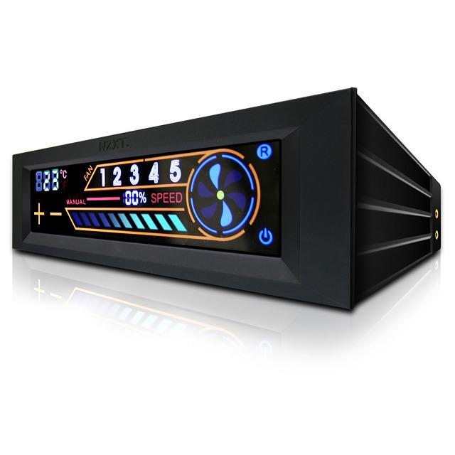 Rhéobus NZXT Sentry 2 NZXT Sentry 2 - Rhéobus à écran LCD tactile (pour 5 ventilateurs)