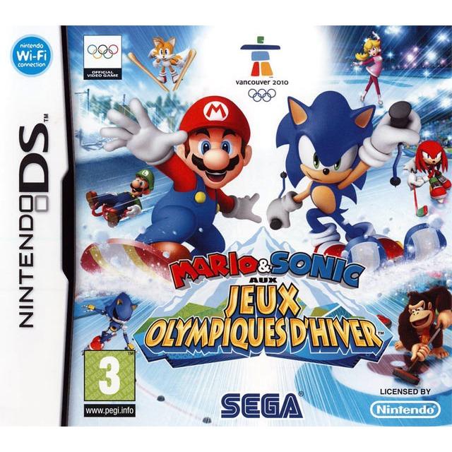 Jeux Nintendo DS Mario & Sonic aux Jeux Olympiques d'hiver Mario & Sonic aux Jeux Olympiques d'hiver (Nintendo DS)