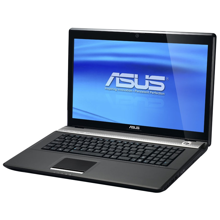 "PC portable ASUS N71VN-TY018V ASUS N71VN-TY018V - Intel Core 2 Duo P8700 4 Go 640 (320 x 2) Go 17.3"" LCD NVIDIA GeForce GT 240M Graveur DVD Wi-Fi N/Bluetooth Webcam Windows 7 Premium (garantie constructeur 2 ans)"