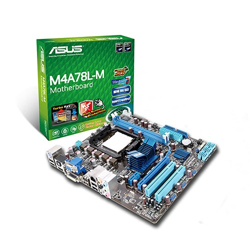 Carte mère ASUS M4A78L-M ASUS M4A78L-M (AMD 760G) - Micro ATX - (garantie 3 ans)