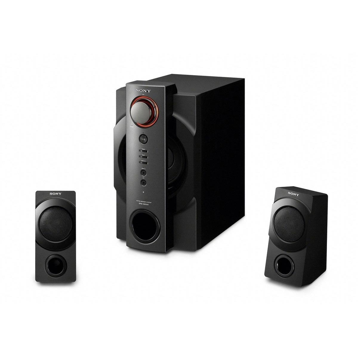 Enceinte PC Sony SRS-DB500 Sony SRS-DB500 - Enceintes 2.1 (coloris noir)