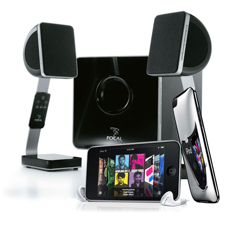 focal xs ipod touch 64 go dock enceinte bluetooth focal sur. Black Bedroom Furniture Sets. Home Design Ideas