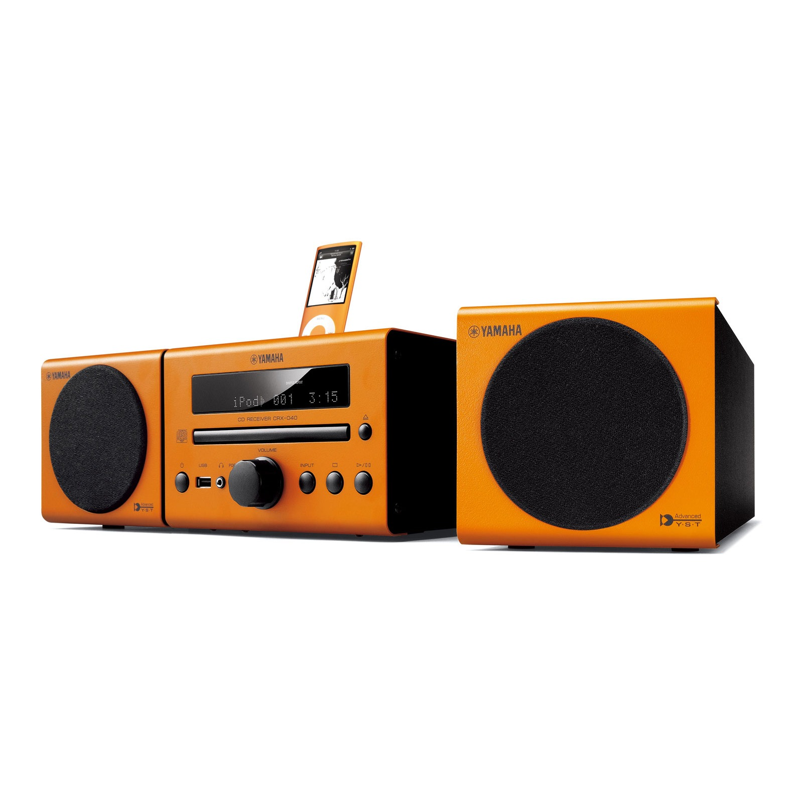 yamaha mcr 040 orange cha ne hifi yamaha sur. Black Bedroom Furniture Sets. Home Design Ideas