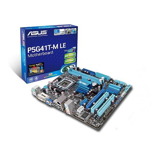 Carte mère ASUS P5G41T-M LE Carte mère Micro ATX Socket 775 Intel G41 Express (garantie 3 ans)