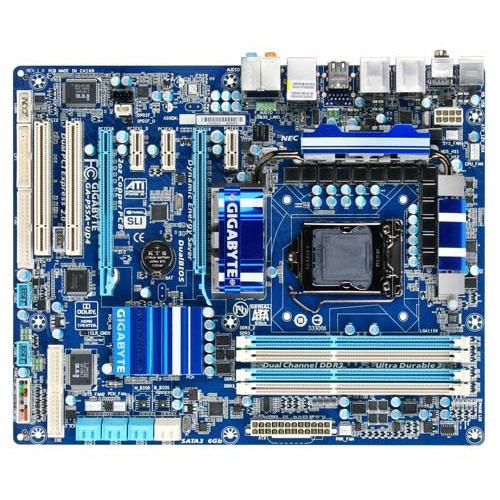 Carte mère Gigabyte GA-P55A-UD4 Gigabyte GA-P55A-UD4 (Intel P55 Express) - ATX