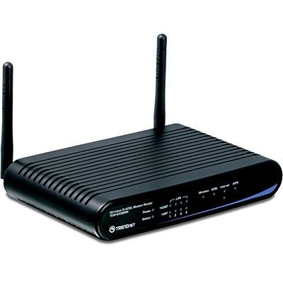 Modem & routeur TRENDnet TEW-635BRM TRENDnet TEW-635BRM - Modem-routeur ADSL 2+ sans fil 300 Mbps
