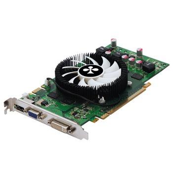 Carte graphique Club 3D 9600 GT Green Edition 512 MB Club 3D 9600 GT Green Edition 512 MB - 512 Mo HDMI/DVI - PCI-Express (NVIDIA GeForce avec CUDA 9600 GT)