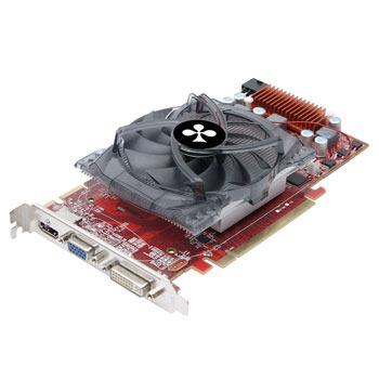 Carte graphique Club 3D Radeon HD 4850 1024 MB Club 3D Radeon HD 4850 1024 MB - 1 Go HDMI/DVI - PCI-Express (ATI Radeon HD 4850)
