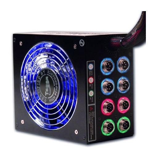 "Alimentation PC Tagan TG800-BZ ""PipeRock"" Tagan TG800-BZ ""PipeRock"" - Alimentation modulaire 800W ATX12V v2.2/EPS12V - 80PLUS Bronze"