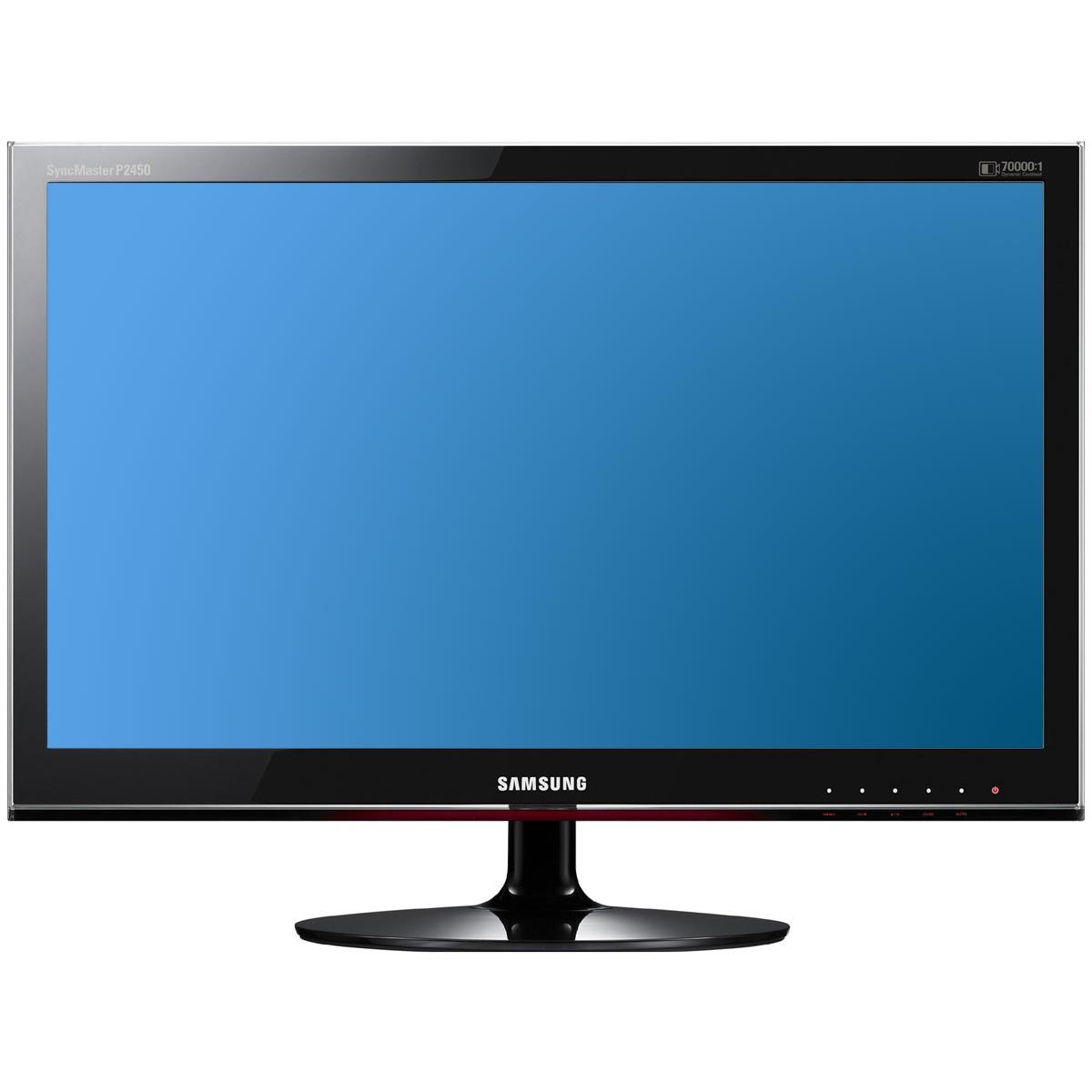 "Ecran PC Samsung P2450H Samsung 24"" LCD - SyncMaster P2450H - 2 ms - Format large 16/9"