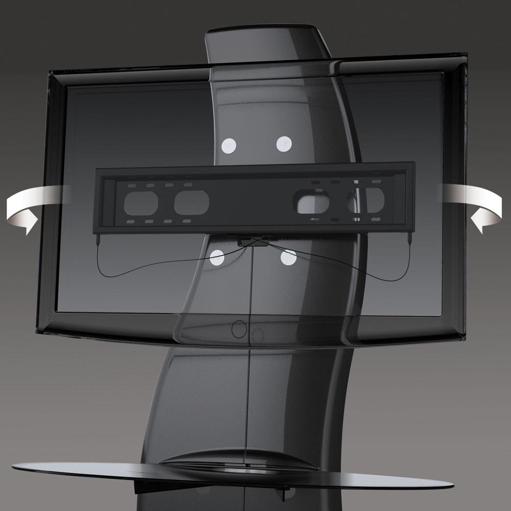 Meliconi Ghost Design 2000 Meuble Tv Meliconi Sur Ldlc Com # Meuble Pour Ecran Plat