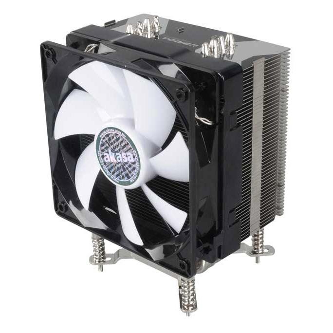 Ventilateur processeur Akasa AK-CC017 Akasa AK-CC017 - ventilateur de processeur (pour Socket 939/AM2/AM2+/AM3/775/1156/1366)