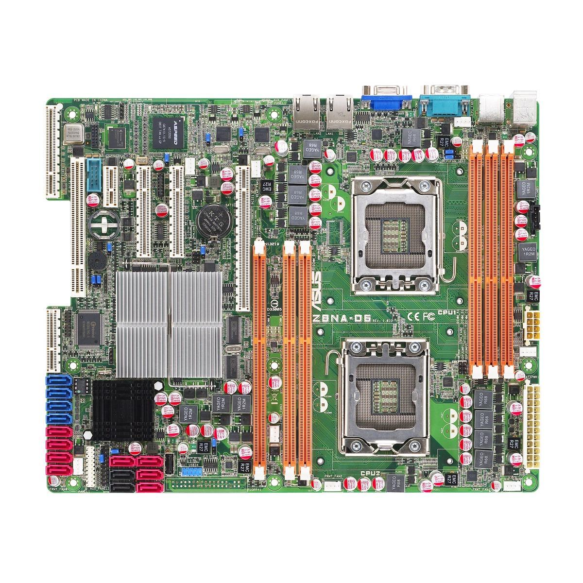 Carte mère ASUS Z8NA-D6 Carte mère ATX Socket 1366 Intel 5500