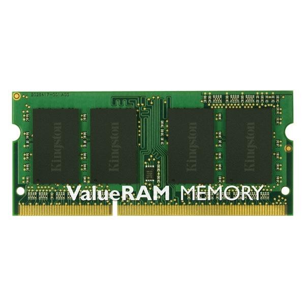 Mémoire PC portable Kingston ValueRAM SO-DIMM 8 Go DDR3L 1600 MHz CL11 RAM SO-DIMM DDR3 PC12800 - KVR16LS11/8 (garantie à vie par Kingston)