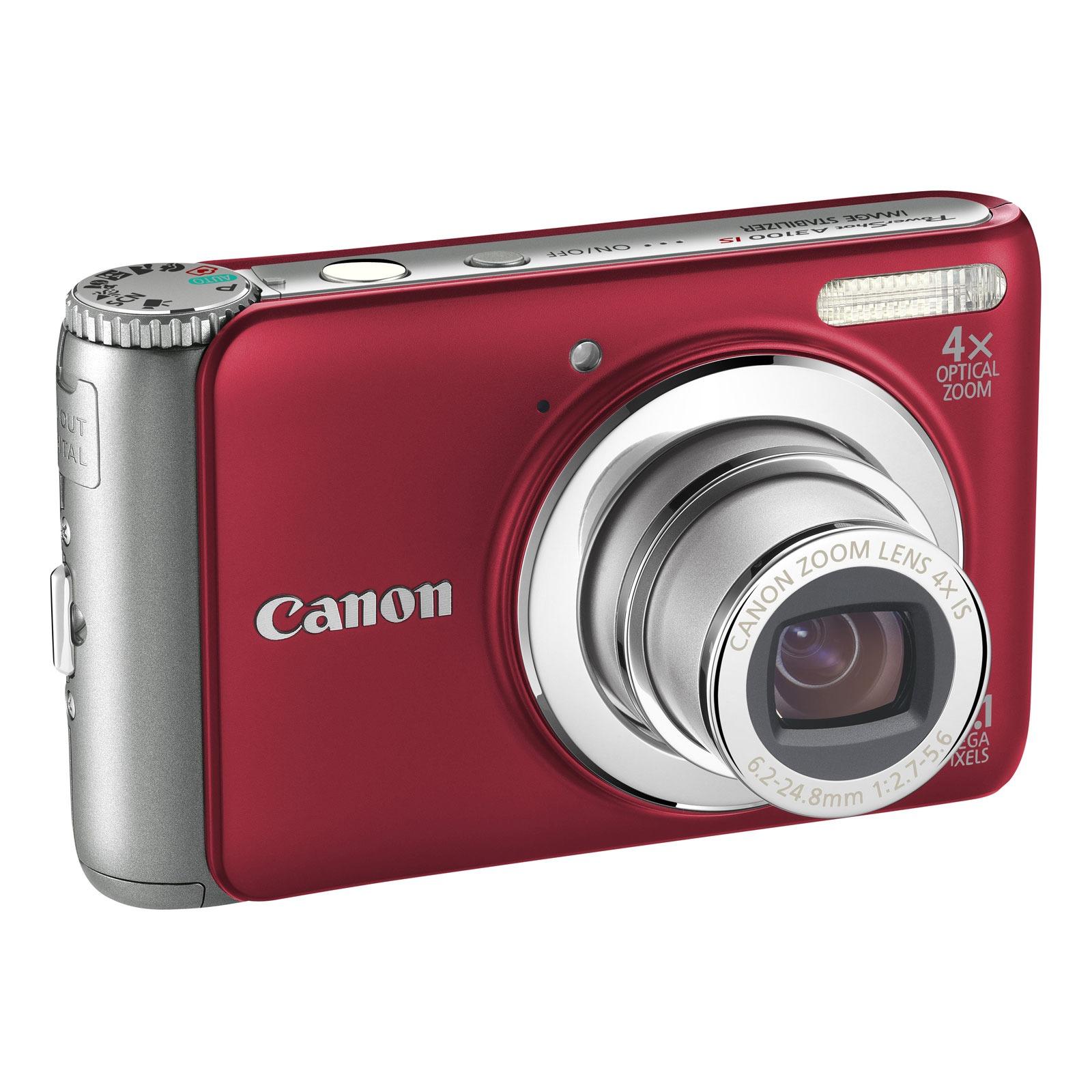 canon powershot a3100 is rouge appareil photo num rique canon sur. Black Bedroom Furniture Sets. Home Design Ideas