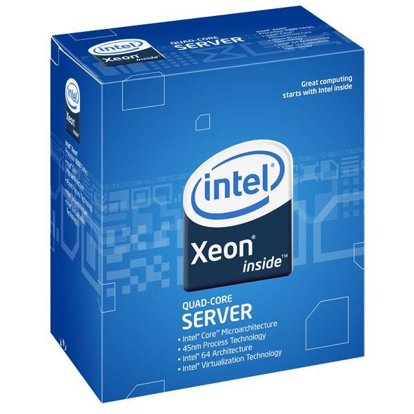 Processeur Intel Xeon X3450 Processeur Quad Core Socket 1156 DMI 2.5 GT/s Cache L3 8 Mo 0.045 micron (version boîte/sans ventilateur - garantie Intel 3 ans)