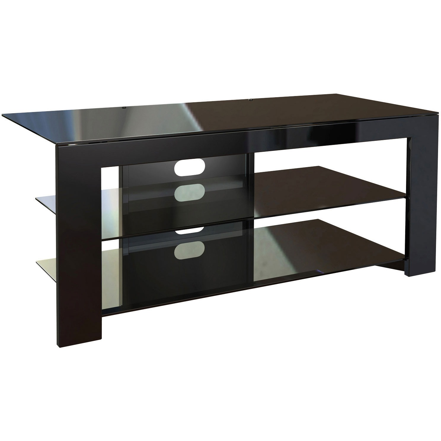 Norstone nelio meuble tv norstone sur for Meuble tv norstone