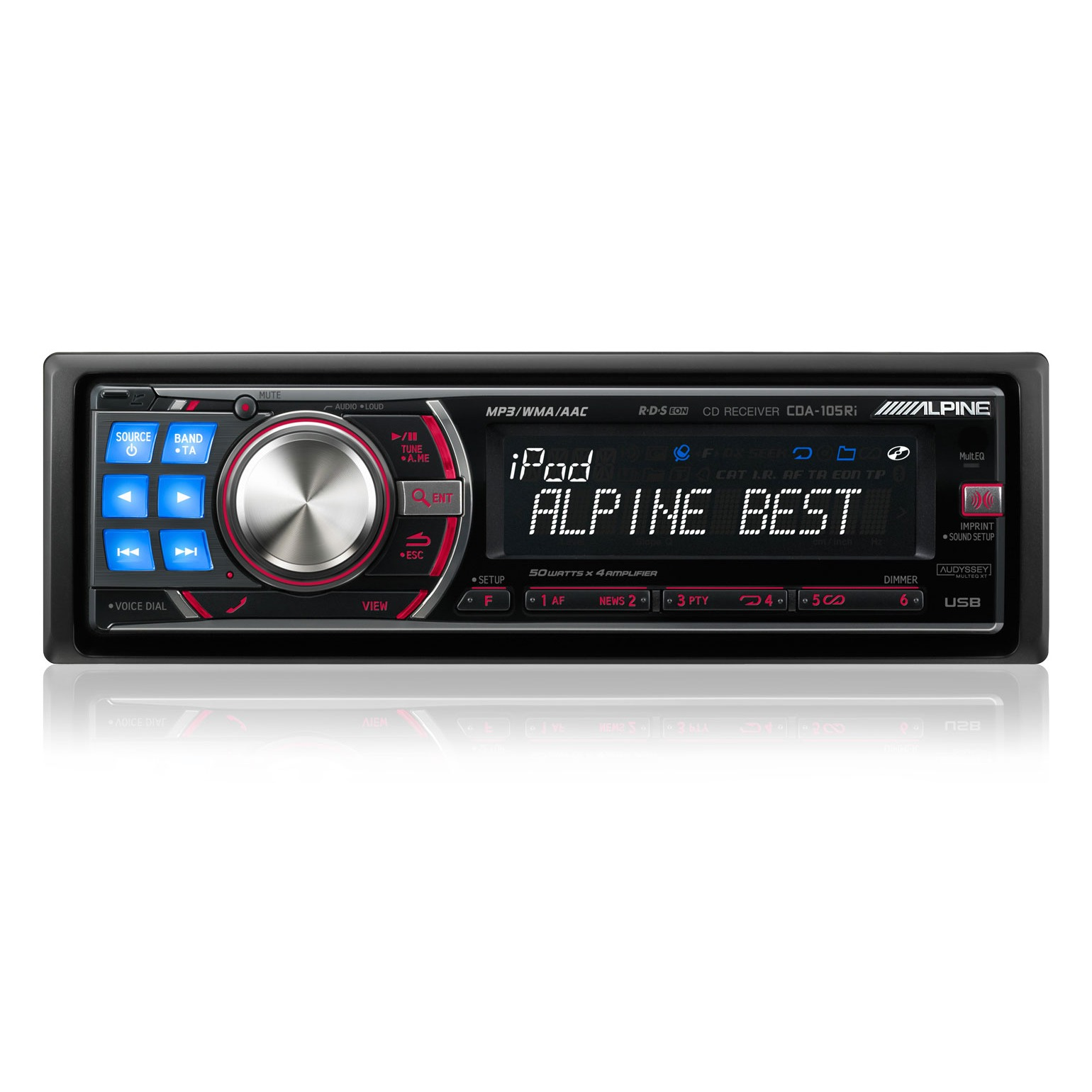 alpine cda 105ri autoradio alpine sur. Black Bedroom Furniture Sets. Home Design Ideas