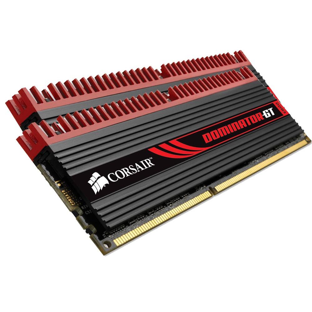 Mémoire PC Corsair Dominator-GT 4 Go (kit 2x 2 Go) DDR3-SDRAM PC3-12800 CL7 - CMT4GX3M2A1600C7 Corsair Dominator-GT 4 Go (kit 2x 2 Go) DDR3-SDRAM PC3-12800 CL7 - CMT4GX3M2A1600C7 (garantie 10 ans par Corsair)