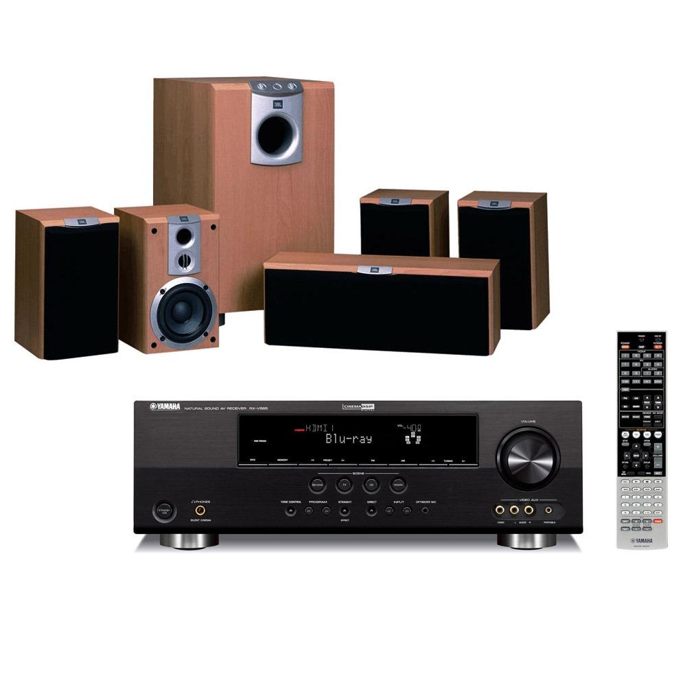 compo home cinema yamaha rx v565 jbl scs 178 ensemble. Black Bedroom Furniture Sets. Home Design Ideas