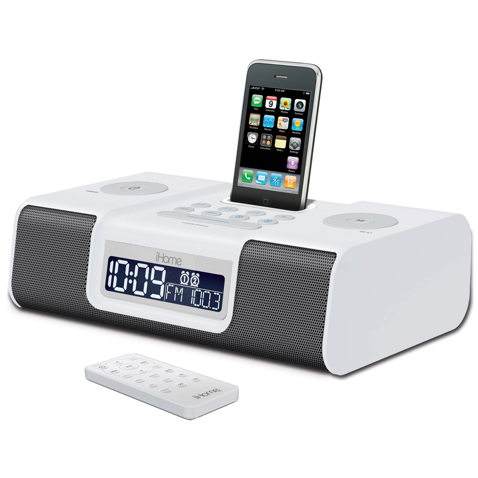 ihome ip9 dock enceinte bluetooth ihome sur. Black Bedroom Furniture Sets. Home Design Ideas
