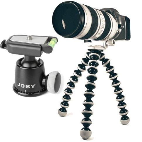 joby gorillapod slr zoom tr pied appareil photo joby sur. Black Bedroom Furniture Sets. Home Design Ideas