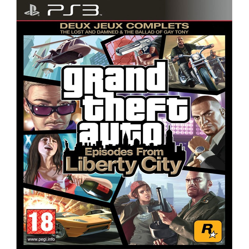 gta iv grand theft auto iv episodes from liberty city ps3 rockstar games sur. Black Bedroom Furniture Sets. Home Design Ideas