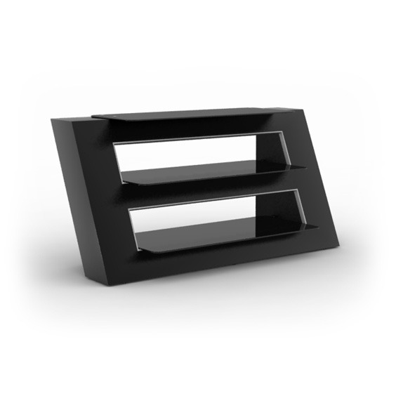elmob alexa al 110 01 noir meuble tv elmob sur. Black Bedroom Furniture Sets. Home Design Ideas
